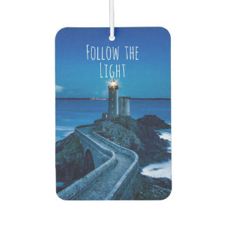 Lighthouse Follow the Light Car Air Freshener