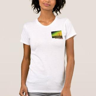 Lighthouse in a Barren Landscape T-Shirt