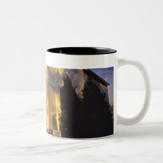 Lighthouse in Escanaba UP Michigan Two-Tone Coffee Mug