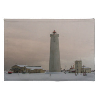 Lighthouse in Iceland Placemat