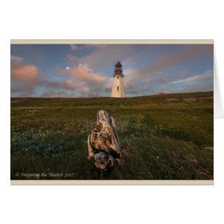 Lighthouse in Newfoundland Card