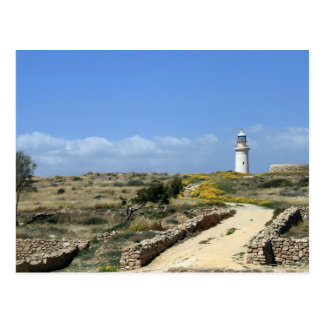 Lighthouse in Paphos Postcard