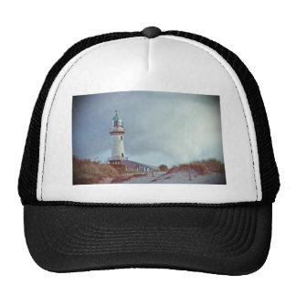 Lighthouse in Warnemuende in Germany Hats