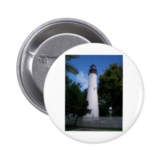 lighthouse_keywest 6 cm round badge