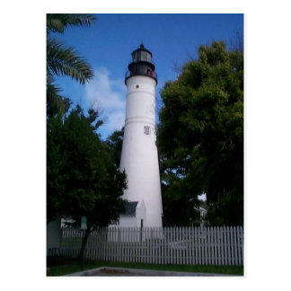 lighthouse_keywest postcard