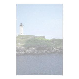 Lighthouse Maine U S A Customized Stationery