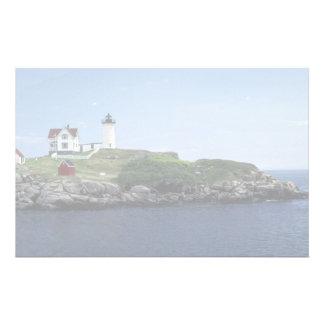 Lighthouse Maine U S A Stationery