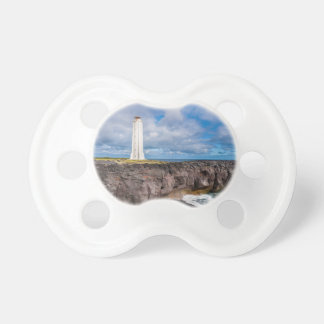 Lighthouse Malarrif Snæfellsnes Iceland Baby Pacifier