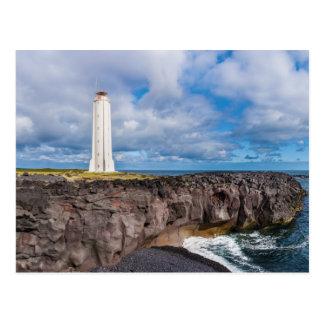 Lighthouse Malarrif Snæfellsnes Iceland Postcard