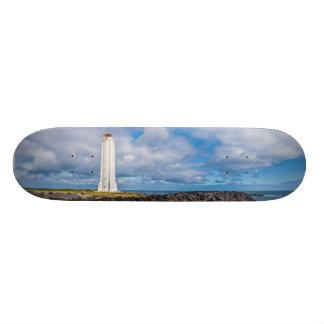 Lighthouse Malarrif Snæfellsnes Iceland Skateboard Deck