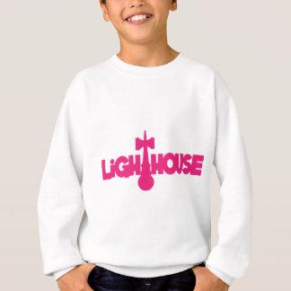Lighthouse, melon sweatshirt