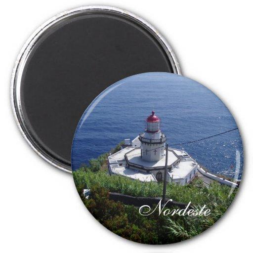 Lighthouse, Northeast Fridge Magnet