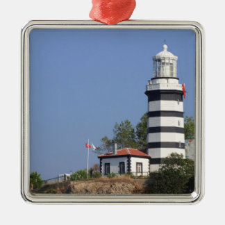 Lighthouse of Sile, Istanbul, Turkey Christmas Ornament