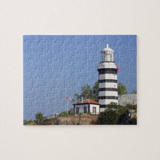 Lighthouse of Sile, Istanbul, Turkey Jigsaw Puzzle