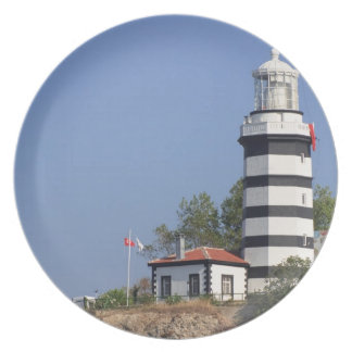 Lighthouse of Sile, Istanbul, Turkey Plate