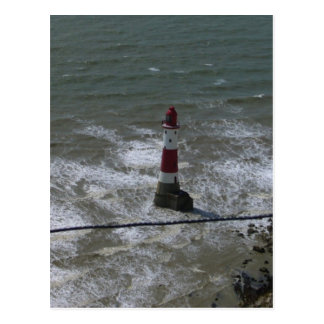 Lighthouse off Beachy Head East Sussex Post Card