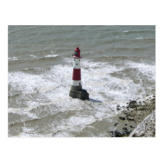 Lighthouse off Beachy Head East Sussex Post Cards