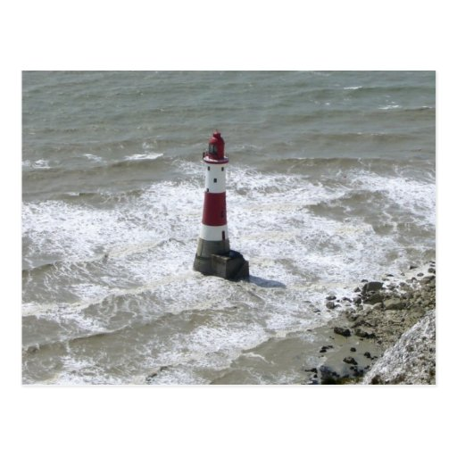 Lighthouse off Beachy Head, East Sussex Post Cards