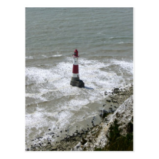 Lighthouse off Beachy Head East Sussex Postcards
