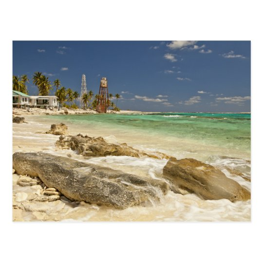 Lighthouse on Half Moon Caye Natural Monument Postcard