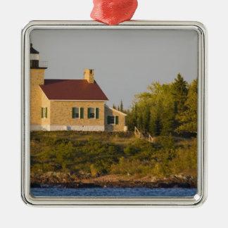 Lighthouse on Lake Superior near Copper Harbor Christmas Ornament