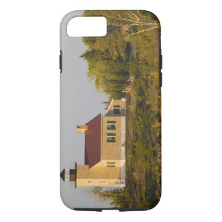 Lighthouse on Lake Superior near Copper Harbor iPhone 8/7 Case