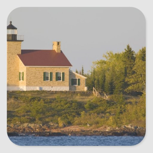 Lighthouse on Lake Superior near Copper Harbor Sticker