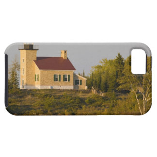 Lighthouse on Lake Superior near Copper Harbor Tough iPhone 5 Case
