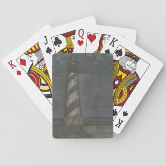 Lighthouse on Playing Cards