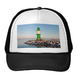Lighthouse on the Baltic Sea coast Hats