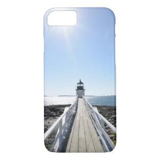 lighthouse on the Maine coast iPhone 7 Case