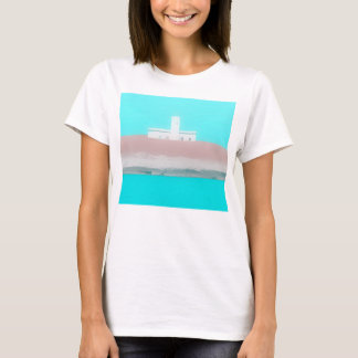 Lighthouse on the Mediterranean Sea Tuscany T-Shirt