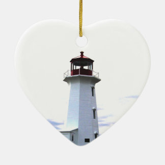 Lighthouse ornament Peggy's Cove Nova Scotia