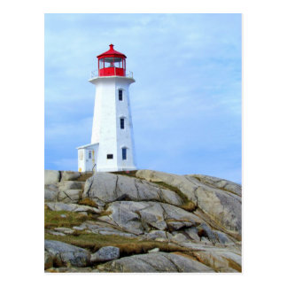 Lighthouse,Peggy's Cove,NS Postcard