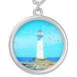 Lighthouse Pendant Necklace