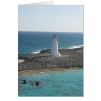 Lighthouse Photo Card