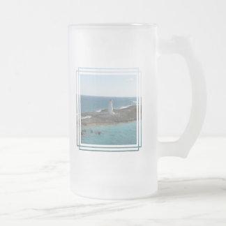 Lighthouse Photo Frosted Mug