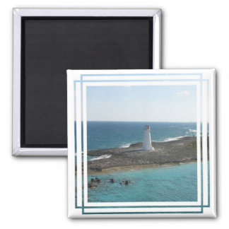 Lighthouse Photo Magnet