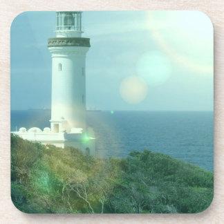 Lighthouse Photos Cork Coasters
