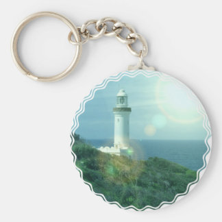 Lighthouse Photos Keychain