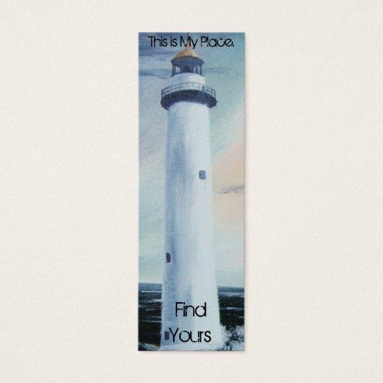 Lighthouse Place Bookmark 2 Mini Business Card