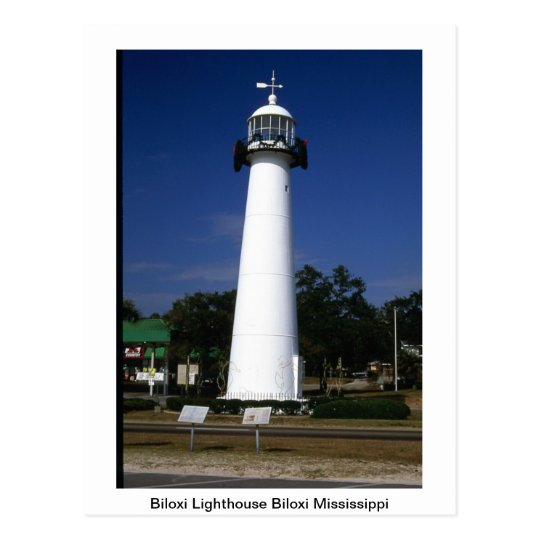 Lighthouse Post Card