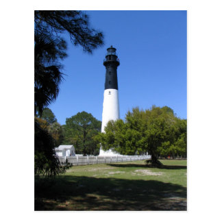 Lighthouse Postcard - Hunting Island, SC