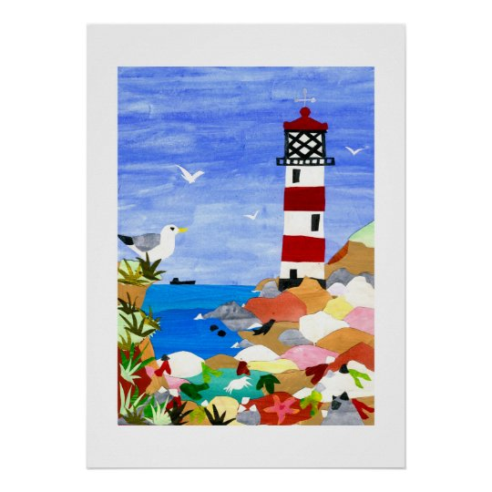 'Lighthouse' Poster or Print