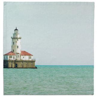 lighthouse printed napkins