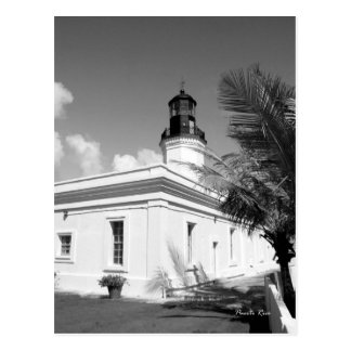 Lighthouse, Puerto Rico Postcard
