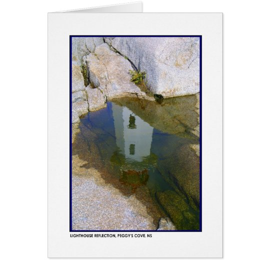 Lighthouse Reflection Card