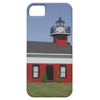 Lighthouse relocated shore in Douglas near iPhone 5 Case