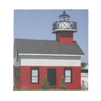 Lighthouse relocated shore in Douglas near Notepad