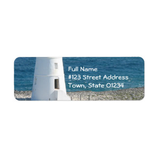 Lighthouse Return Address Label